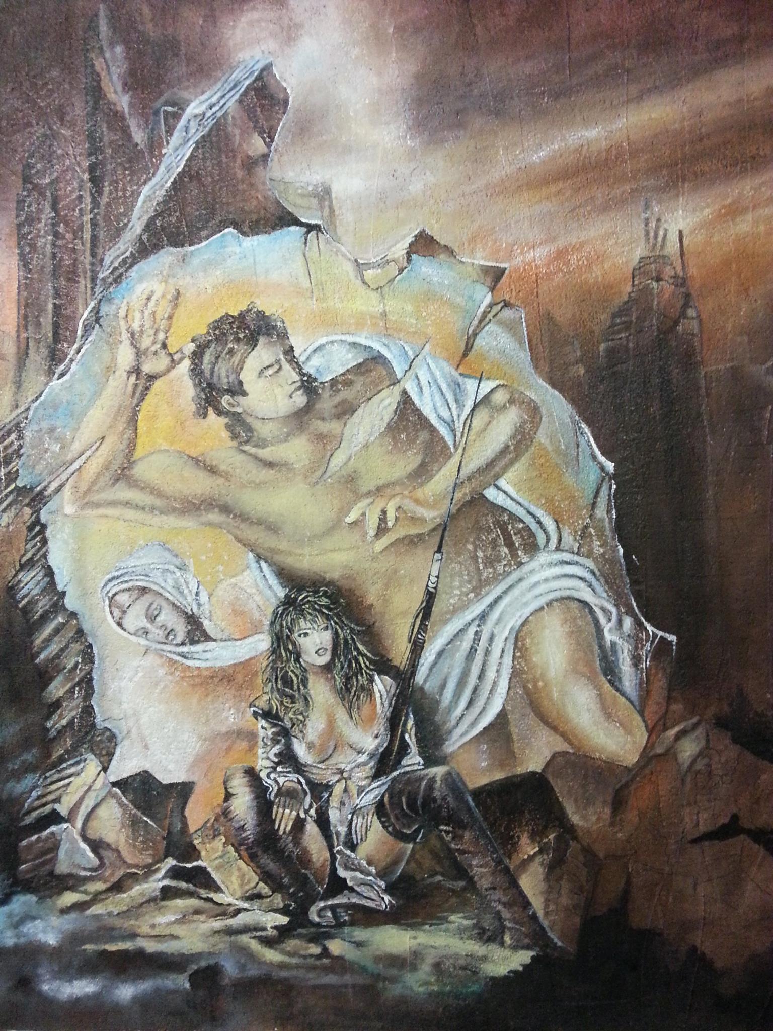 Giudizio Universale dipinto di Mary Ann