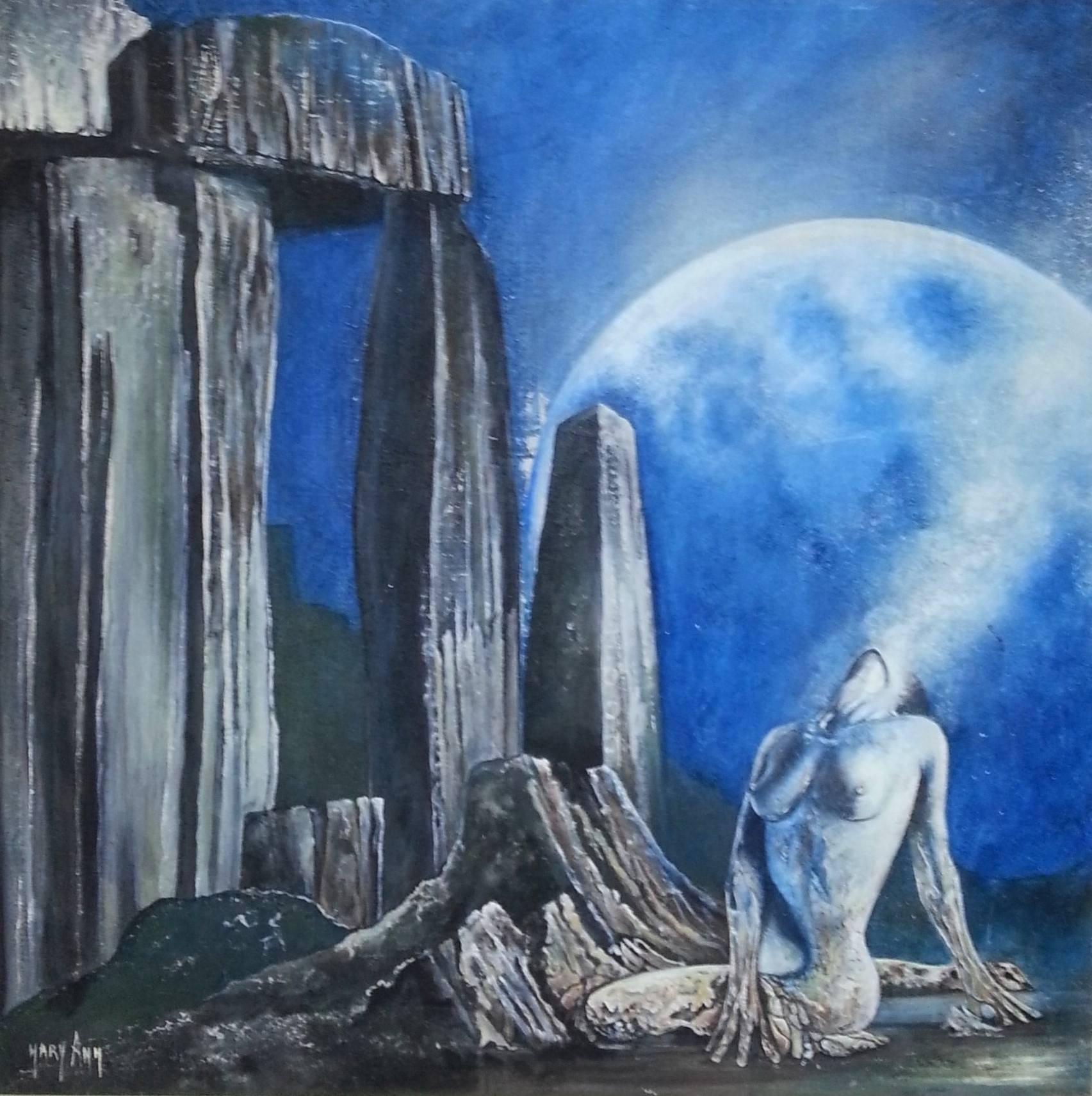 Stonehenge Freya la Pietra del Tallone di Mary Ann