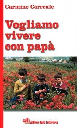 Copertina del libro Vogliamo vivere con papà