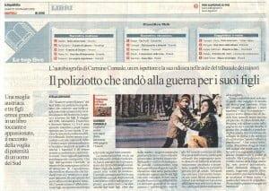 """Recensione del libro """"Vogliamo vivere con papà"""" sul quotidiano """"la Repubblica"""""""