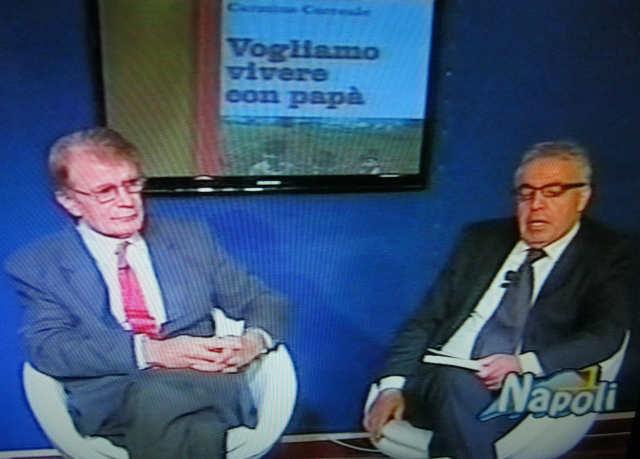 Lo scrittore Carmine Correale ospite a Napoli 1