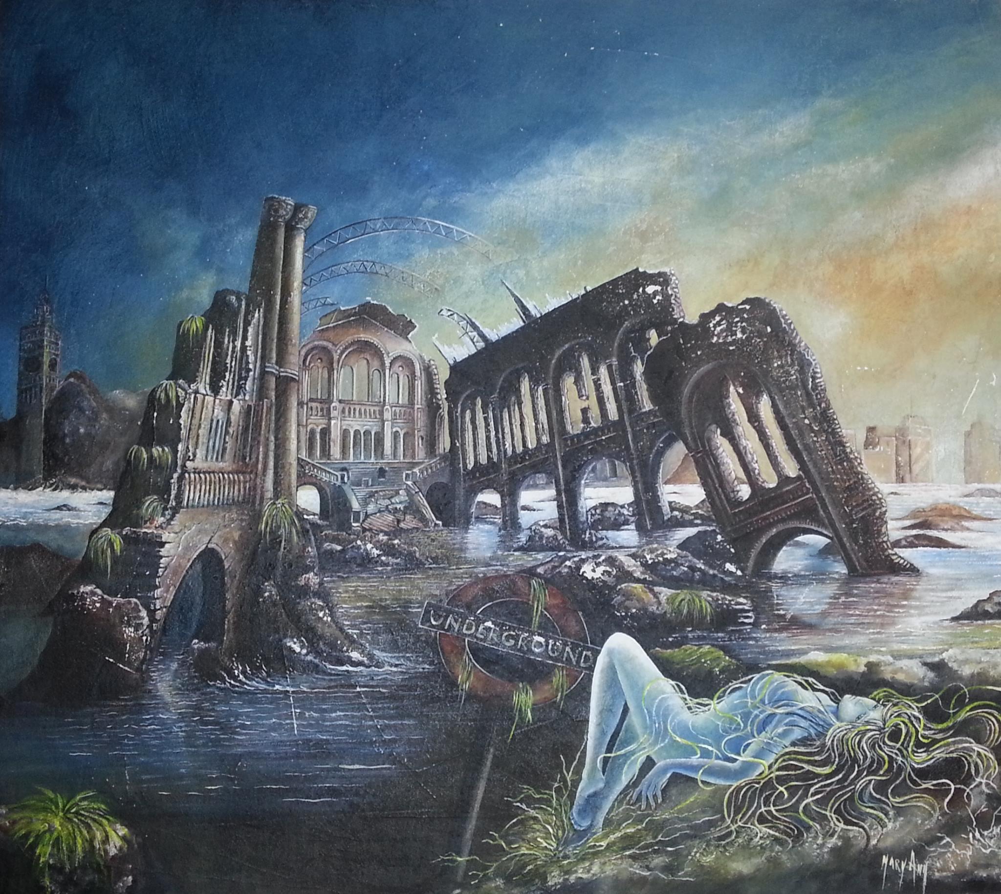 Ground Zero dipinto di Mary Ann
