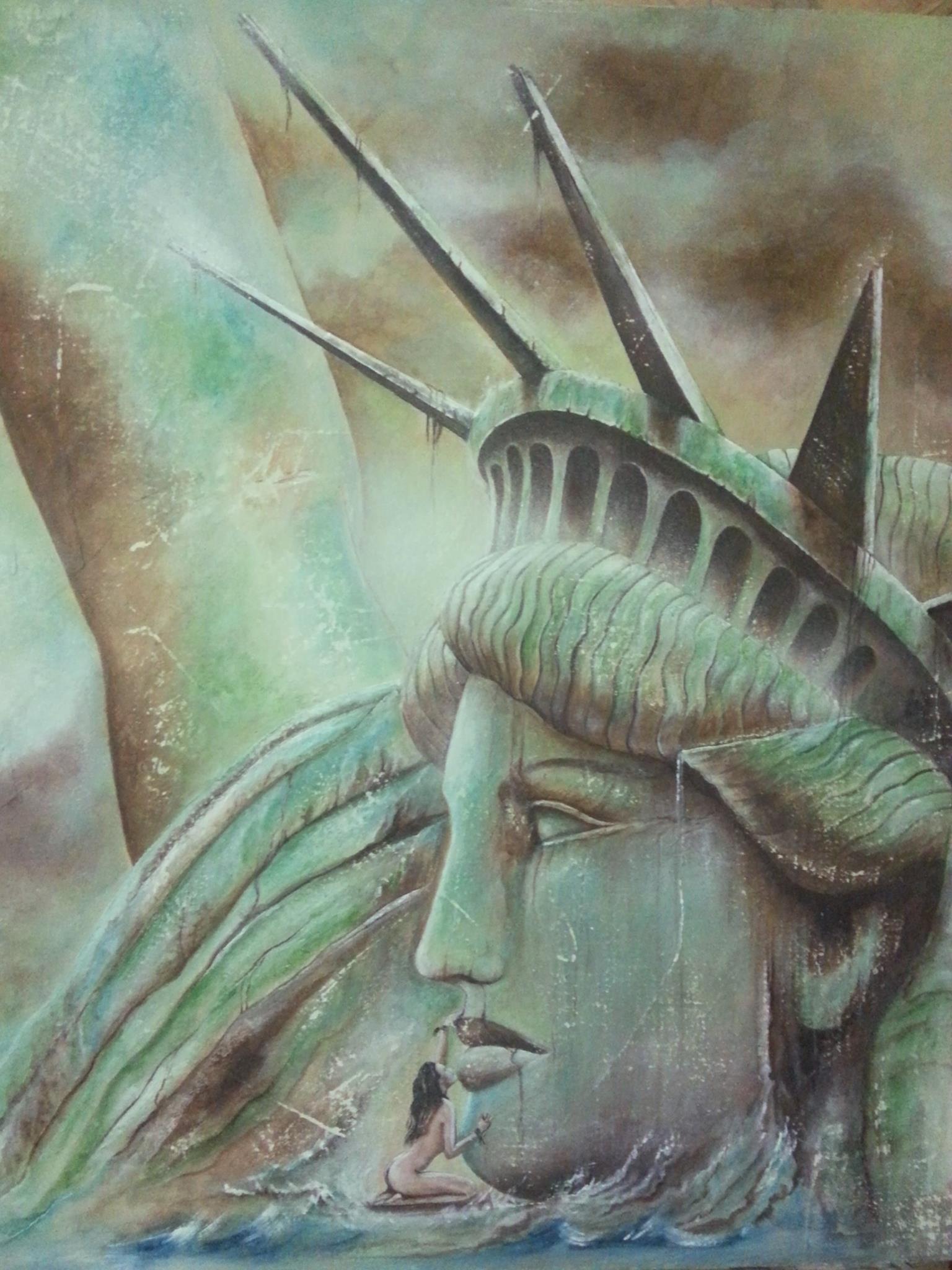 La Legge Nuova dipinto da Mary Ann